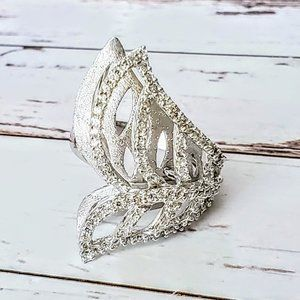 Sterling Winged Fashion Ring